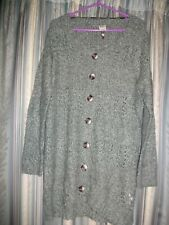 Green Knitted Cardigan Size 16 VERO MODA