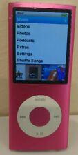 Apple Ipod Nano 4th Gen 8GB Model A1285 Pink Works Has Music Spot on Screen