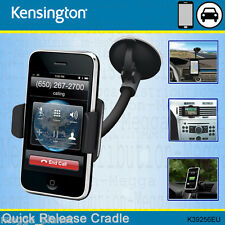 Kensington Quick Release Universal Phone Cradle Car Vent+Windscreen Mount Holder