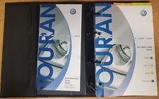 GENUINE VW TOURAN HANDBOOK OWNERS MANUAL WALLET 2003-2006 PACK E-594