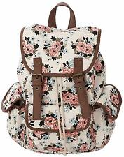 Canvas School College Backpack/bookbags for Girls/students/women Back To School.