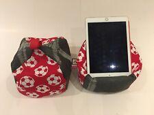 Football iPad tablet cushion Beanbag stand holder fits tablets kindle