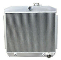 CC5057 3 ROW ALUMINUM RADIATOR W/COOLER FIT 1955 1956 1957 CHEVY BEL AIR V8