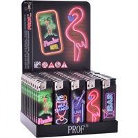 Feuerzeug elektrisch Neon Motive Party , 8 x 2cm Sammeln & Seltenes