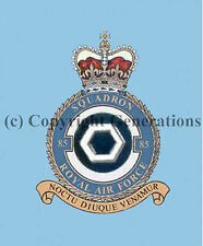 ROYAL AIR FORCE 85 SQUADRON  COASTER