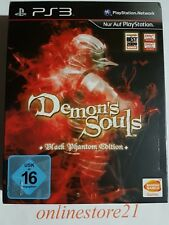 Demon's Souls Black Phantom Edition PlayStation 3 Rar Neu PS3 selten
