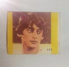 collectible card of the Great Uruguayan footballer ENZO FRANCESCOLI