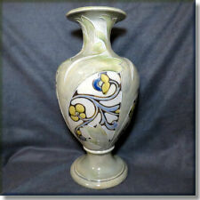 "Spectacular Royal Doulton 13.5"" Vase by Mark V Marshall & Emily J Partington"