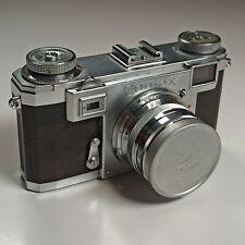 Contax IIa Silver & Zeiss-Opton Sonnar 50mm F1.5 35mm rangefinder leica beater