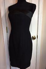 Vintage D'ore Black Strapless Evening Cocktail Formal Dress Size 8