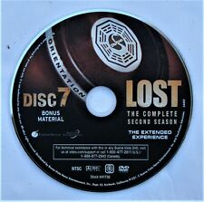 LOST (TV show) SEASON 2 DISC 7 REPLACEMENT DVD DISC ONLY