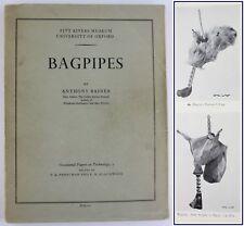 BAGPIPES*COMPONENTS*HORNPIPE*SCOTTISH HIGHLAND *MUSETTE*ZAMPOGNA*PIPE MUSIC*1960