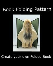 Penguin ,  Book Folding PATTERN to create your own folded book artSim