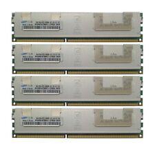 Samsung 32GB 4x8GB Kit 2Rx4 PC3-8500R-07-10-E1-D2 M393B1K70BH1-CF8Q4 Server ECC