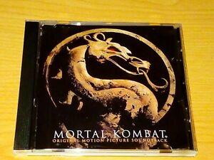 MORTAL KOMBAT SOUNDTRACK CD 1995 VGC.