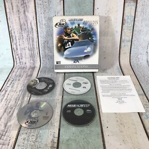 RARE EA Compilations: NBA Live 2000 Need For Speed Porsche Populous PC Cd Games