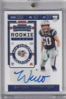 Chase Winovich 2019 Contenders Variation Rookie Ticket Rc Auto Sp