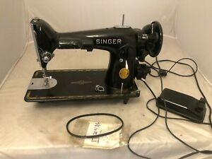 MAY 1948 BLACK SINGER SEWING Model 201   MACHINE AH632630