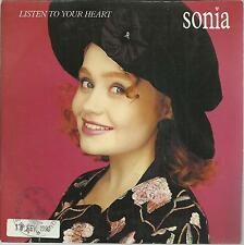 45 TOURS  /  SONIA   LISTEN TO YOUR  HEART                      A2