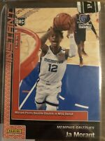 Ja Morant SP Tmall Panini Instant Red Number #17/25 Grizzlies RC Rookie