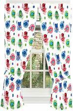 New PJ Masks Window Curtains 160cm Drop Childrens Room Decor Catboy Gekko Owlett