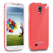 Puregear Samsung Galaxy S4 Slim Shell Impact Flexible Silicone Case Strawberry