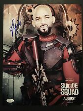 Will Smith Deadshot Suicide Squad Autograph Signed 11 x14 JSA COA