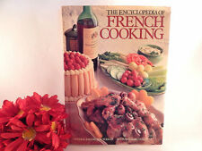 The Encyclopedia of French Cooking Cook Book by Elisabeth Scotto VTG 1982 HC