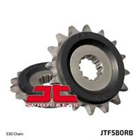 JT Rubber Cushioned Front Drive Motorcycle Sprocket JTF580RB 16 Teeth
