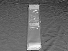 "100 -  2"" x 14"" + Flap Resealable Cello Bags w/ Hang Hole"