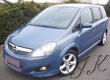 Vauxhall Opel Zafira B (2009+) Front Lip Bumper Spoiler Diffuser Add On
