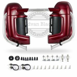 Color Matched Lower Vented Fairings Fit Harley Street Electra Glide 1983-2013