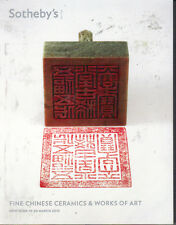SOTHEBY'S Chinese Ceramics Bronzes Jade Snuff Bottles Furniture Seal Catalog 13