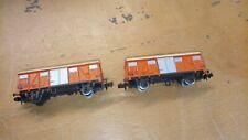 2 wagons RIVAROSSI    ech N 1/160