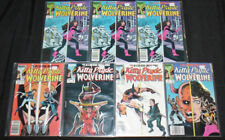 KITTY PRYDE AND WOLVERINE COMIC LOT 7PC (VF-NM)