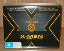 X-Men -The Ultimate 5-Film Collection Blu-ray 9-Disc Box Set New & Sealed