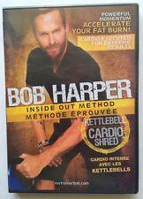 """Bob Harper Inside Out Method """"Kettlebell Cardio Shred"""" DVD (2010) NEW Sealed"""