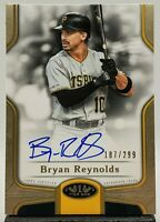 2020 Topps Tier One AUTO 187/299 Bryan Reynolds Pittsburg Pirates