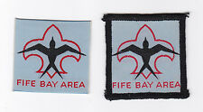 SCOUTS OF PAPUA NEW GUINEA - PNG SCOUT FIFE BAY AREA DISTRICT PATCH (2 VAR) E++