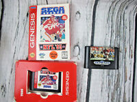Sega Sports NFL 1995 and Genesis Sports Talk Football Joe Montana