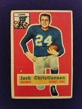 1956 Topps Football Card # 20 Jack Christiansen (HOF)