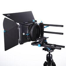 FOTGA DP500IIS DSLR 15mm Rod Rail Baseplate + DP3000 M3 Matte Box Swing Away Kit