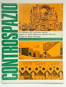 Controspazio 11 - 12 1970 Dedalo Rivista Architettura Andre Mrovwiece Portoghesi