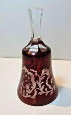 Antique Original Art Glassware Ruby Date-Lined Glass