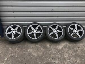 "18"" Genuine Mercedes Alloy Wheels fit W205 Mercedes C Class saloon"