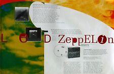 "LED ZEPPELIN ""BOX SET"" U.S. PROMO POSTER"