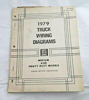 1979 Chevy Chevrolet Medium Heavy Duty Truck Wiring Diagrams Service Manual