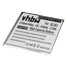 Batteria 3100mAh Li-Po per LENOVO ZUK Z2 Pro, ZUK Z2 Pro Ultimate Edition
