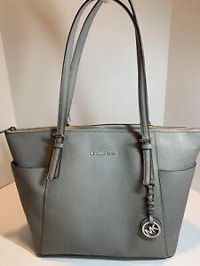 Michael Kors Handbag Purse Gray With Defects