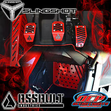 NEW 2015 - 2016 POLARIS SLINGSHOT PEDAL / FOOT REST / SIDE KICK PANEL COVER KIT